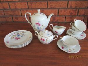 15 piece Hutschenruther bone china coffee set