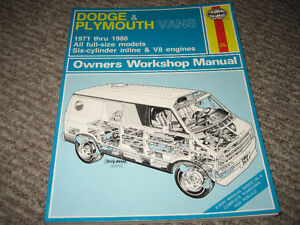 1971-1986 Dodge/Plymouth Vans