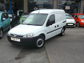 08 Vauxhall Combo 1.3CDTi VAN SIDE DOOR FOLD DOWN PASS. SEAT/SWIVEL BULKHEAD