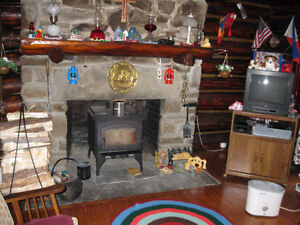 2 story log cabin in Arcade, new york state , Guest house