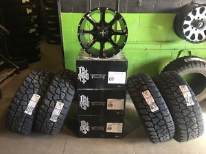 "Dodge Ram 2500/3500 and Ford 250/350 20"" Rim & Tire Package!!!!"