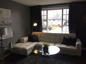 clean 4br semi-detached house May 1st