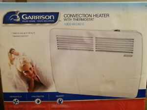 Heater with Thermostat, Brand New