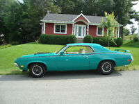 Mercury Cougar Eliminator 1970  428 SCJ