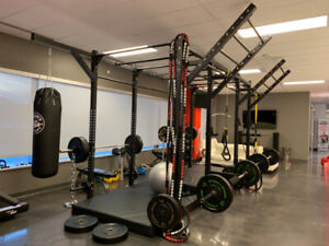 Commercial gym equipment in new condition!