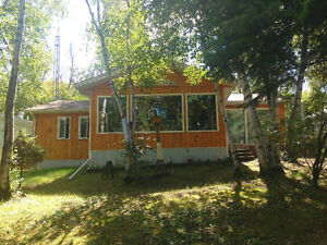 Tobin Lake Sask.1300 sq, ft cabin for weekly rental