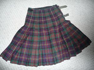 Wool Kilt and Accessories