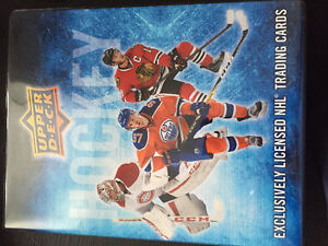 2016-17 UD hockey series 1 complete set and inserts