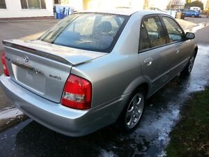 2002 Mazda Protege ES Sedan, near showroom condition