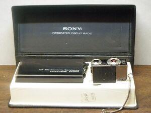 Sony ICR-120 Transistor Radio
