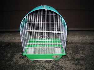 Slightly used Small Bird Cage in excellent clean condition