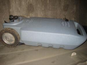 Portable R.V holding tank