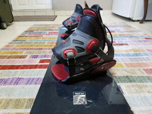 Snowboard, Quick-Release Bindings + Boots