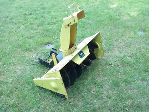 John Deere Snow Thrower / Blower Attachment Stratford Kitchener Area image 2