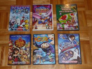 DVD dessines animés
