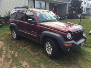 2002 JEEP LIBERTY (3 BUYING OPTIONS)