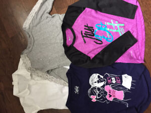 Girls size 6 shirts lot