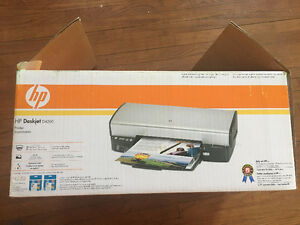 HP Deskjet D4260 Colour Printer with replacement Ink Cartridges