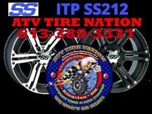 "ITP SS212 Rims Wheels 12"" Canada - ATV TIRE NATION"