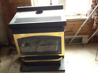 Propane heater/fireplace
