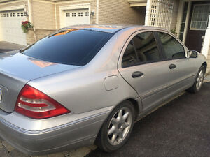 2002 Mercedes-Benz C-Class Sedan Rare 6 Speed Manual