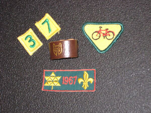 1960's Cub Scout Crests and Leather Clip Regina Regina Area image 1