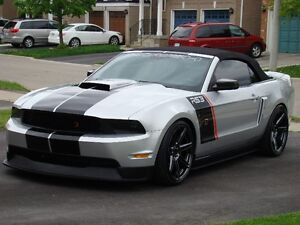 2010 Mustang Roush Supercharged Convertible Stage 3 Phase 3 595