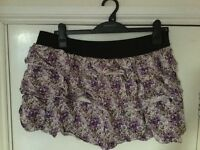 Purple RaRa skirt, size 18
