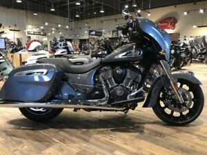 2019 Indian Motorcycle Chieftain Steel Gray