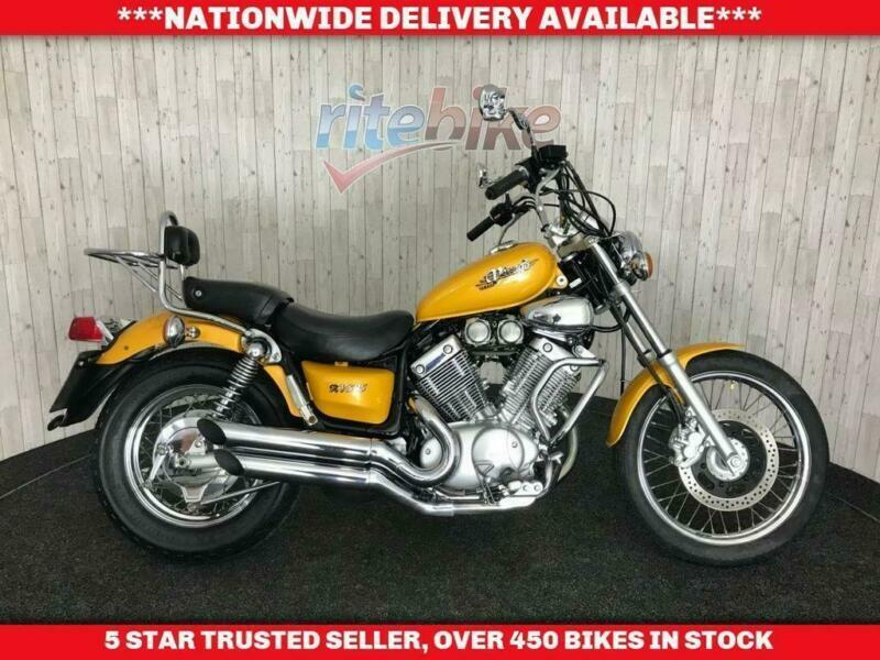 YAMAHA XV535 XV 535 VIRAGO LIGHT WEIGHT CUSTOM STYLE LONG MOT 1997 P, used for sale  Low Moor, Bradford