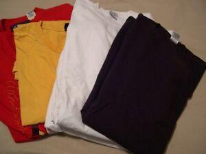 7  T shirts grandeur 4 XL et 6 XL.