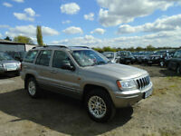 2002 52 Reg Jeep Grand Cherokee 2.7 CRD auto Limited