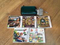 Nintendo 3ds with accessories and games