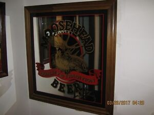3 Large Beer Mirrors for sale