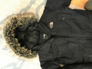 Women's The North Face Parka- size S - like new!