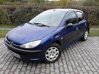 2004 Peugeot 206 2.0 HDi S 5dr (a/c)