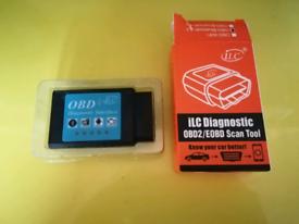 Bluetooth OBD2 diagnostic tool
