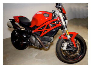 2013 Ducati Monster 796 ABS with numerous upgrades and extras