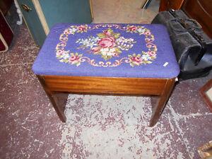 Antique Vanity Stool