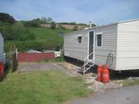 For sale cheap used preowned static caravan holiday home sited South Devon
