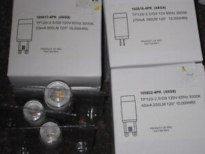 Variety of LED G9 and G4 Chandelier Type of Bulbs - see Pix Kitchener / Waterloo Kitchener Area image 9