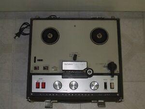 Sony TC-200 Reel to Reel Vintage Parts or Repair