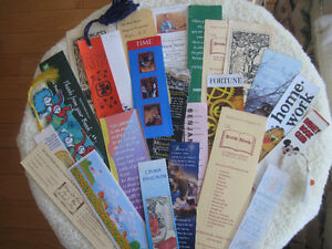 VINTAGE ['60's - '70's ] COLLECTION BOOK MARKS