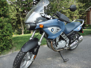 BMW 2002 F650cs with ABS brakes end of season huge price drop