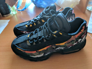 brand new 495cf 0651d NIKE AIR MAX 95 ERDL PARTY BLACK SIZE 8