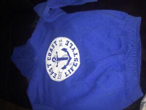 Boys east coast lifestyle hoodie