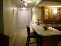 Basement suite for woman , single Mom or working couple