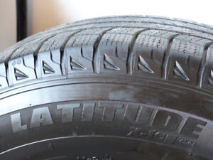 Michelin Winter Tires with Rims - Great Condition