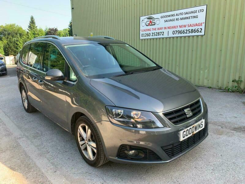 2017 SEAT AlHAMBRA 2 0TDI DSG SE UNRECORDED DAMAGED REPAIRABLE SALVAGE | in  Macclesfield, Cheshire | Gumtree