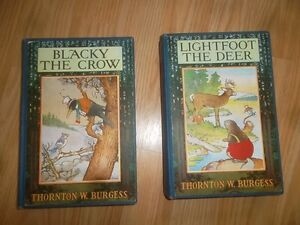 THORTON W. BURGESS BOOKS